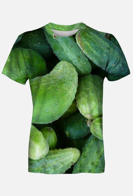 Męska Koszulka - ogórki