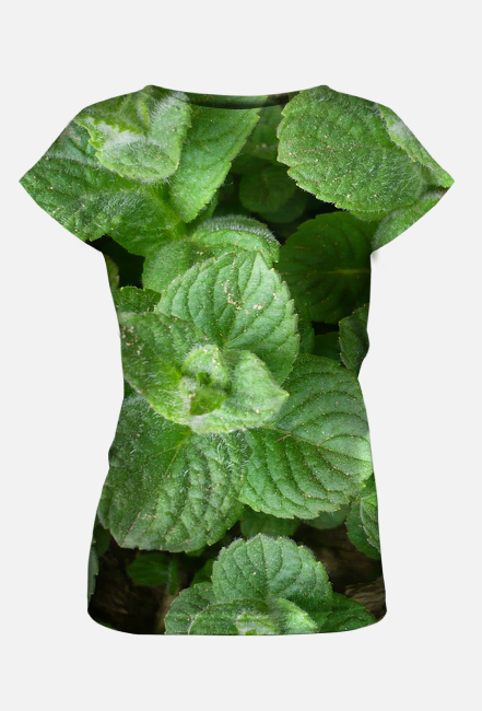 Damska Koszulka - mięta