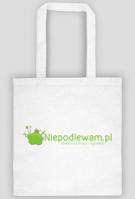 Niepodlewam.pl - Eco torba biała wzór nr 2