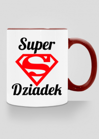 Super Dziadek - kubek na Dzień Dziadka