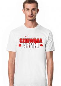 Męski T-Shirt: CZERWONA ARMIA