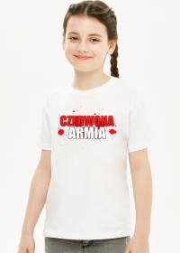 Dziewczęcy T-Shirt: CZERWONA ARMIA