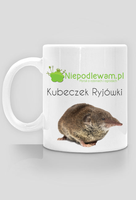 Kubeczek Ryjówki - Niepodlewam.pl