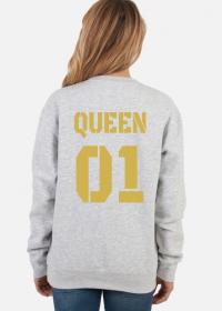 Bluza Queen 01 z Kapturem Gold