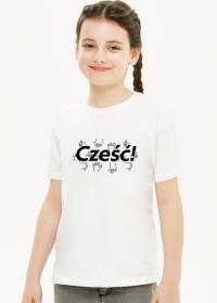 Koszulka dziecięca - Cześć