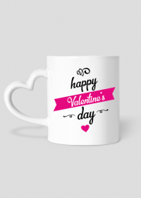 Happy Valentine's day - kubek walentynkowy