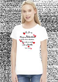 My funny Valentine - koszulka na Walentynki