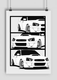 Plakat Subaru