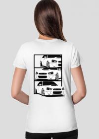 T-shirt Damski Subaru