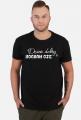 Koszulka Dzień Dobry Czarna