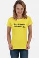 the Agile Manifesto changed my life Yellow [damska]