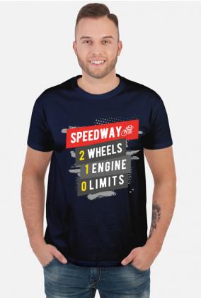 Koszulka - SPEEDWAY - 2 WHEELS - 1 ENGINE - 0 LIMITS