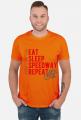 Koszulka - EAT - SLEEP - SPEEDWAY - REPEAT