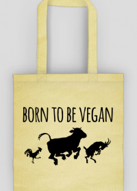 Eko torba - born to be vegan