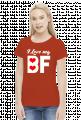 Koszulki dla par I love my BF