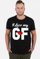 Koszulki dla par I love my GF - walentynki