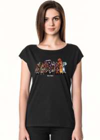 Koszulka 2M3D, Róża i Kły, A tymczasem... oversize