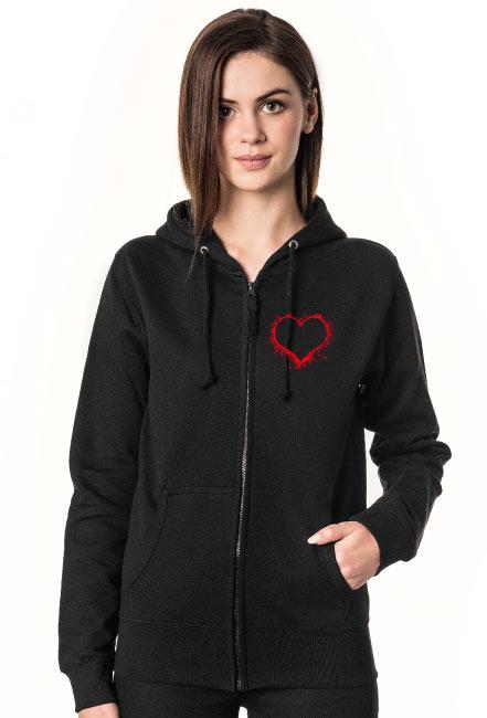 Bluza serce Walentynki