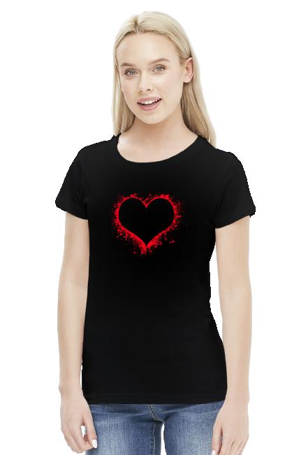 Koszulka Serce Walentynki