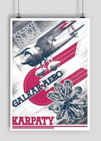 Plakat A1 59x84cm POL Karpaty vintage