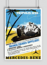 Plakat A1 59x84cm Tripolis 1939 vintage