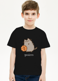 "Chłopięcy T-shirt ""Pusheen"" Wzór 3"