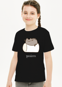 """Dziewczęcy T-shirt """"Pusheen"""" Wzór 4"""