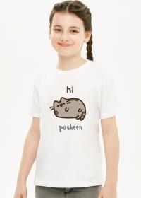 """Dziewczęcy T-shirt """"Pusheen"""" Wzór 5"""