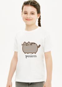 """Dziewczęcy T-shirt """"Pusheen"""" Wzór 8"""