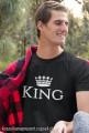 Koszulki dla par - King