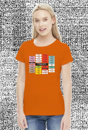 Koszulka Etykiety Pielęgniarka