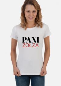 Koszulka damska - Pani zołza