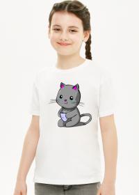 Koszulka Dziewczęca Kitku Płaczku