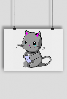 Plakat Kitku Płaczku