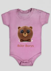 Body dziecięce - słodziaki bóbr borys