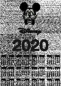 KALENDARZ 2020! DISNEY MYSZKA MIKI! IDEALNY PREZENT NA KAŻDĄ OKAZJĘ!