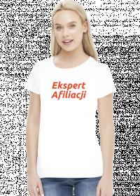 Koszulka damska Ekspert Afiliacji