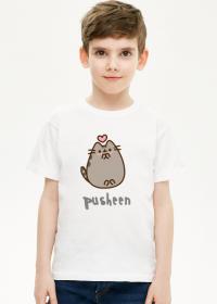 Chłopięcy T-Shirt Pusheen wzór 18