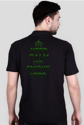 Keep Calm and Smoke Herb (man)