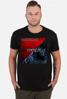 T-Shirt Męski Kondzik - Razorblade Salvation (2019)