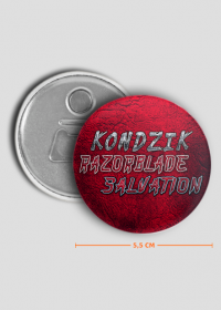 Otwieracz Do Piwa Kondzik - Razorblade Salvation (2019)