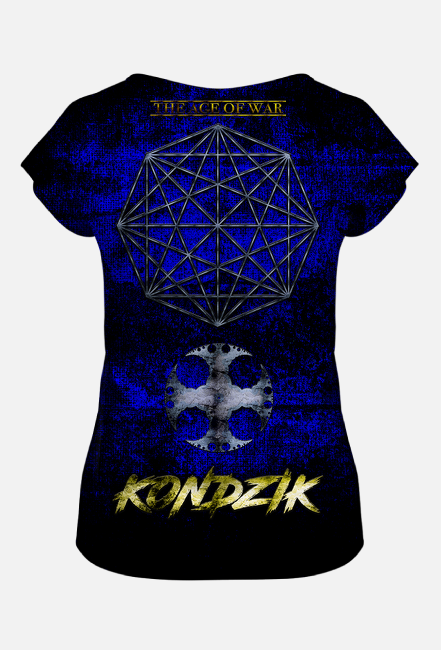 T-Shirt Damski FullPrint Kondzik - The Age Of War (2020)