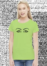 Koszulka damska Oczy