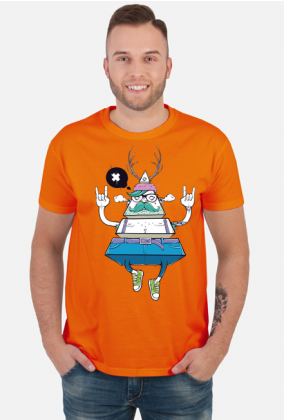Koszulka Męska Hipster