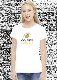 """Koszulka """"Golden Woman"""""""