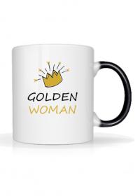 "Kubek magiczny ""Golden Woman"""