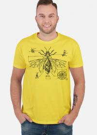 Koszulka Męska Steampunkowy Robak