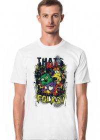Koszulka Męska That's All Folks