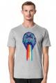 Koszulka Męska Tęczowy Goryl