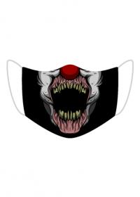 Clown - maseczka z nadrukiem